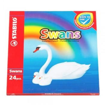 Stabilo 1879 Swan Colour Pencil-24L (Item No: B05-21) A1R2B149