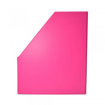 "5"" PVC Magazine Box File - Fancy Pink"