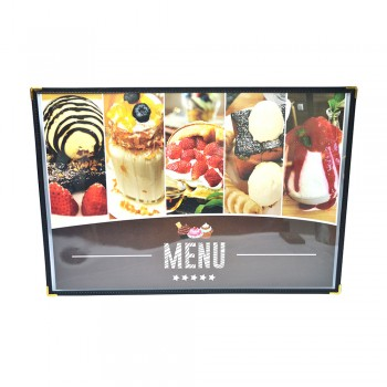 K2 161 A3 Clear Case Menu Holder