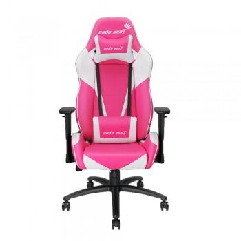 ANDA SEAT Gaming Chair Viper Series - White + Pink