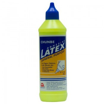 Chunbe White Glue Adhesive Latex LT1122  8 oz