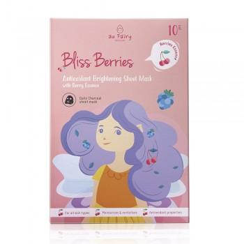 Aufairy Bliss Berries Brightening Mask - 10pcs