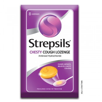 Strepsils Chesty Cough Lozenge 8s
