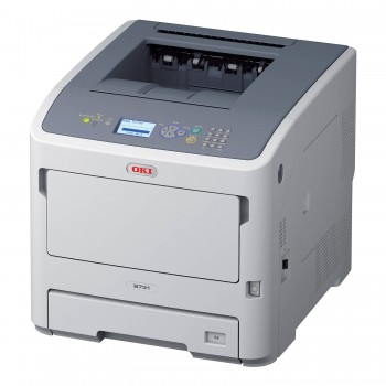 OKI B731dn A4 Mono Printer B700 Series Duplex, Network LED Printer - 45487103