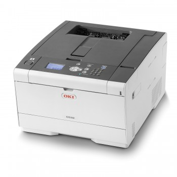 OKI C532dn A4 Color Printer C500 Series Duplex, Network LED Printer - 46356103