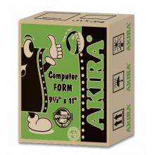"""Akira Green Ncr 4Ply W 9.5"""" X 11"""" (240Fans)"""