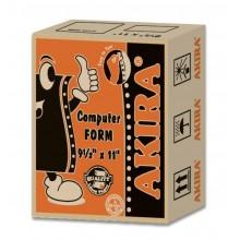 """Akira Orange Ncr 4Ply W 9.5"""" X 11"""" (250Fans)"""