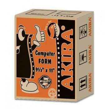 """Akira Orange Ncr 4Ply Wpyb 9.5"""" X 11"""" (250Fans)"""