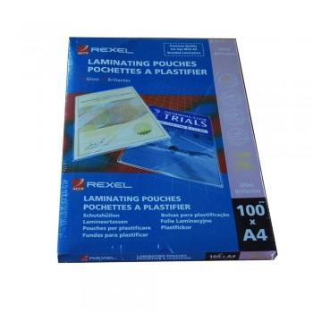 Rexel Laminate Pouch 75 Mic 216 x 303mm A4